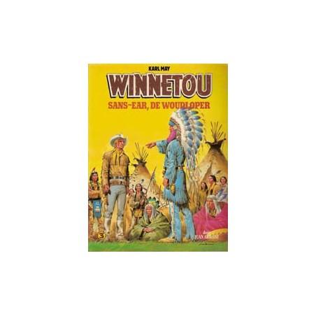 Winnetou 03 Sans-Ear, de Woudloper herdruk 1981
