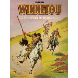 Winnetou 04 SC<br>De zoon van de berejager<br>herdruk 1981