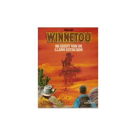 Winnetou 05% De geest van de Llano Estacado herdruk 1982
