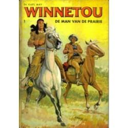 Winnetou set HC<br>deel 1 t/m 5<br>1e drukken 1966-1968