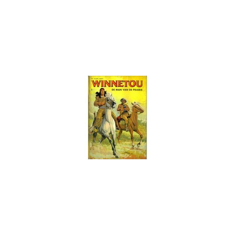 Winnetou set HC deel 1 t/m 5 1e drukken 1966-1968