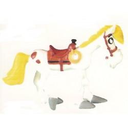 Lucky Luke poppetjes Jolly Jumper