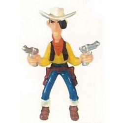 Lucky Luke poppetjes Lucky Luke met 2 revolvers