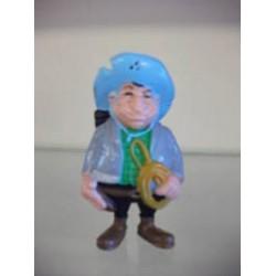 Lucky Luke poppetjes Schleich Hank de postkoetsdrijver