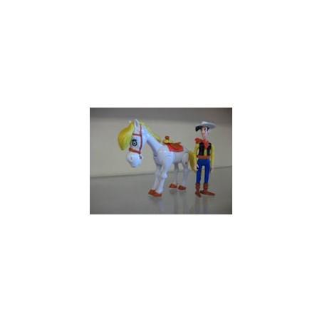 Lucky Luke poppetjes Quick Lucky Luke & Jolly Jumper 1996