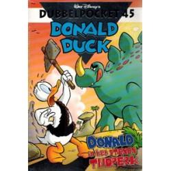 Donald Duck Dubbelpocket 45<br>Donald in het stenen tijdperk