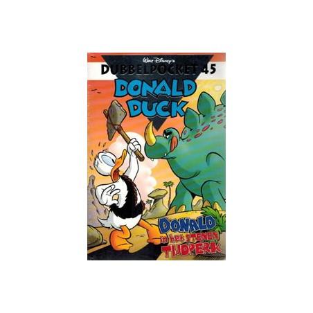 Donald Duck  Dubbel pocket 45 Donald in het stenen tijdperk