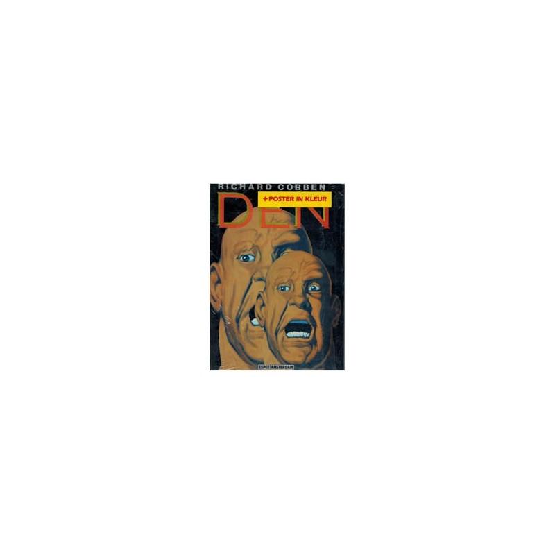 Corben Den 01 herdruk 1982 met poster