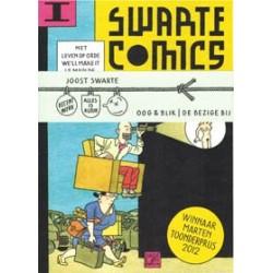 Swarte comics 01 & 02 set<br>2 leporello boekjes met buikbandje