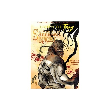 Lanfeust  Legenden van Troy Saffraan nacht 02 De wraak van Albume