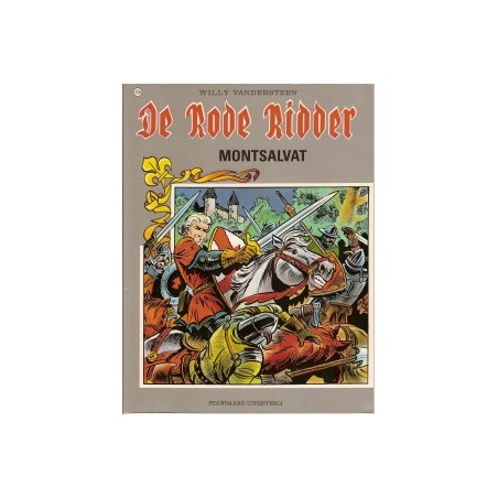 Rode Ridder Kleur 155 Montsalvat 1e druk 1995