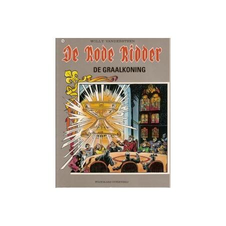 Rode Ridder Kleur 156<br>De graalkoning<br>1e druk 1995