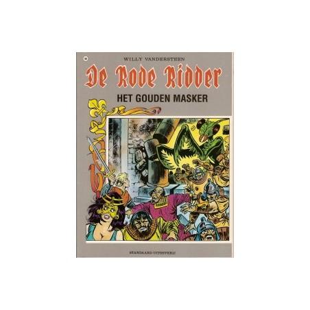 Rode Ridder Kleur 160 Het gouden masker 1e druk 1996