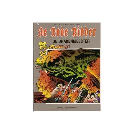 Rode Ridder Kleur 166 De drakenmeester 1e druk 1998