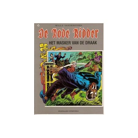 Rode Ridder Kleur 167 Het masker van de draak 1e druk 1998