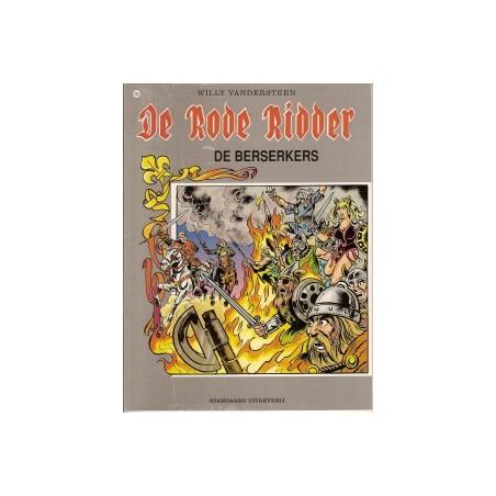 Rode Ridder Kleur 184 De Berserkers 1e druk 2001