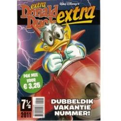 Donald Duck Extra 2011 7 1/2<br>Vakantienummer<br>1e druk 2011