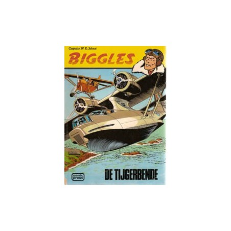 Biggles set Semic deel 1 t/m 4% 1e drukken 1977-1979
