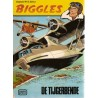 Biggles set Semic deel 1 t/m 4% 1e drukken 1977-1979