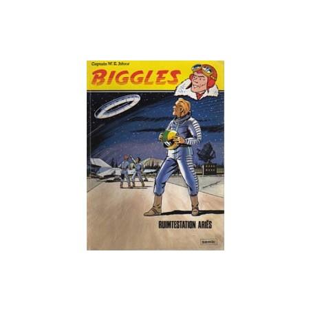 Biggles SE04 Ruimtestation Ariës 1e druk 1979