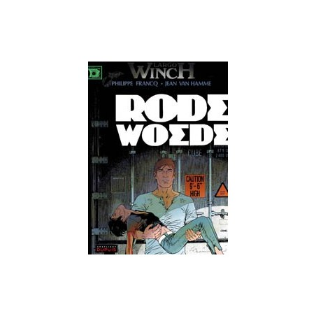 Largo Winch  HC 18 Rode woede