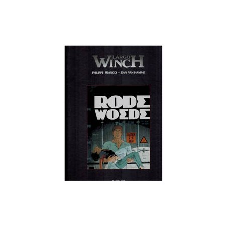 Largo Winch  Luxe 18 Rode woede