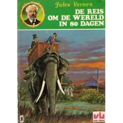 Jules Verne 01 Reis om de wereld in 80 dagen 1e druk 1977