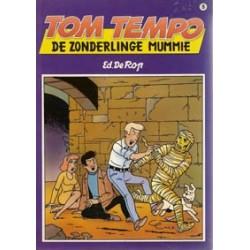 Tom Tempo 05 De zonderlinge mummie 1e druk 1990