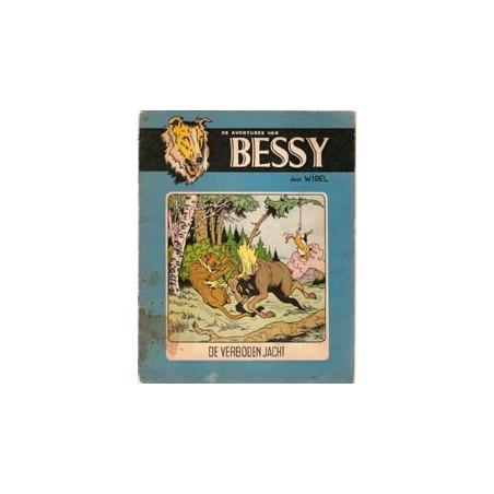 Bessy Blauw/bruin 17 De verboden jacht herdruk ca. 1962