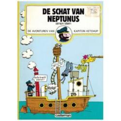 Kapitein Ketchup 01<br>Schat van Neptunus<br>1e druk 1973