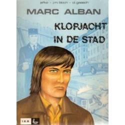 Marc Alban 01 Klopjacht in de stad 1e druk 1979