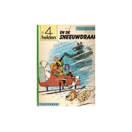 Vier (4) Helden 09 De sneeuwdraak 1e druk 1976
