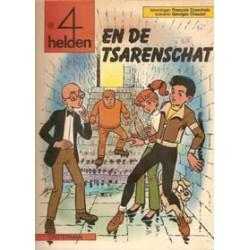 Vier (4) Helden 19 De tsarenschat 1e druk 1983