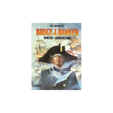 Bruce J. Hawker 01 Koers Gibraltar 1e druk 1985