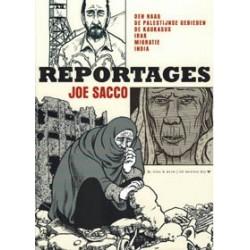 Sacco<br>Reportages<br>Den Haag Palestijnse gebieden Kaukasus...