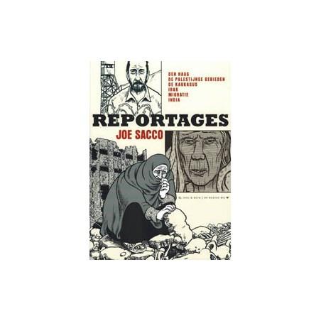 Sacco strips Reportages Den Haag Palestijnse gebieden Kaukasus...