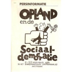 Opland Persmapje Opland en de sociaal-democratie 1981
