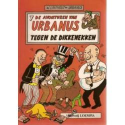 Urbanus 007 (ongekleurd)<br>Tegen de dikkenekken<br>1e druk 1984