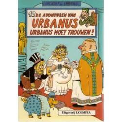 Urbanus 012 (ongekleurd)<br>Urbanus moet trouwen!<br>1e druk 198