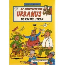 Urbanus 017<br>De kleine tiran<br>1e druk 1988