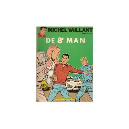 Michel Vaillant 08% De 8e man herdruk Helmond ca. 1974