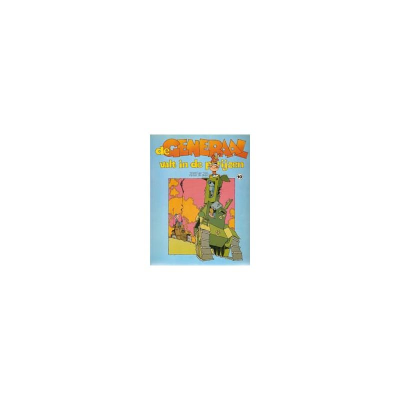 Generaal 10 De Generaal valt in de prijzen 1e druk 1985