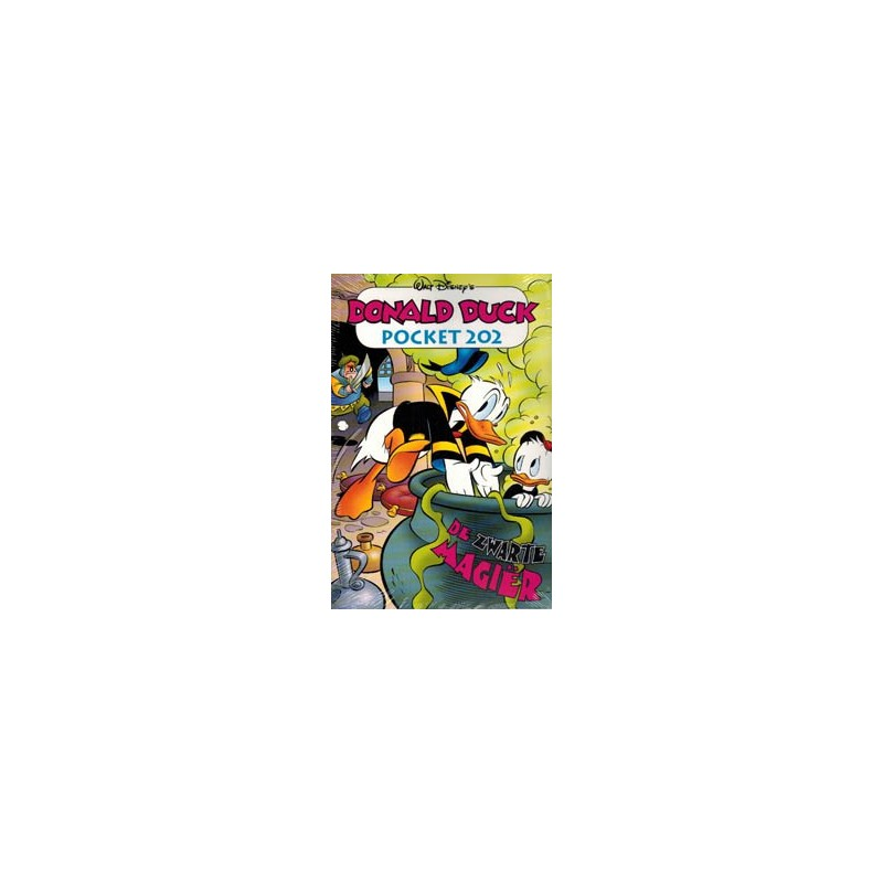 Donald Duck  Pocket 202 De zwarte magier