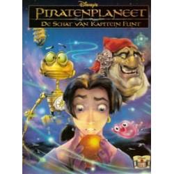 Disney Filmstrip 45 Piratenplaneet: Schat van Kapitein Flint