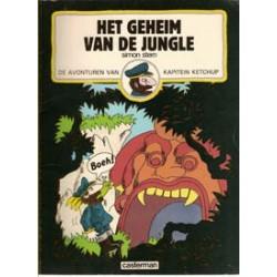 Kapitein Ketchup 04<br>Het geheim van de jungle<br>1e druk 1982