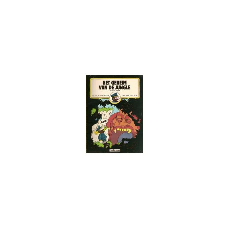 Kapitein Ketchup 04 Het geheim van de jungle 1e druk 1982