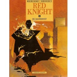 Red Knight 01<br>De vuurgeest<br>1e druk 1990<br>(Rode Ridder)
