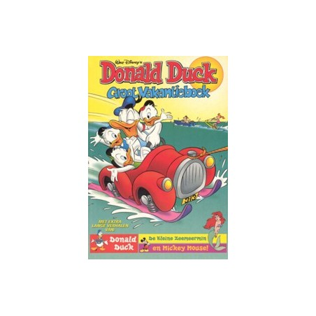 Donald Duck vakantieboek 1998