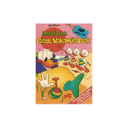 Donald Duck vakantieboek 1984