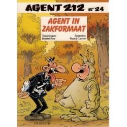 Agent 212<br>24 - Agent in zakformaat<br>1e druk 2004